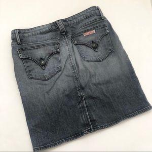 Hudson Denim Jean Mini Skirt